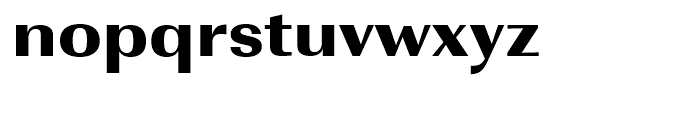 Imperial Ultra Bold Extra Wide Font LOWERCASE