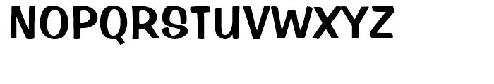 Impress Regular Font UPPERCASE