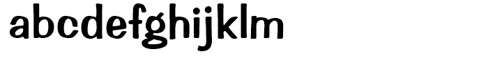 Impress Regular Font LOWERCASE