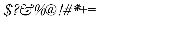 Imprint Italic Font OTHER CHARS