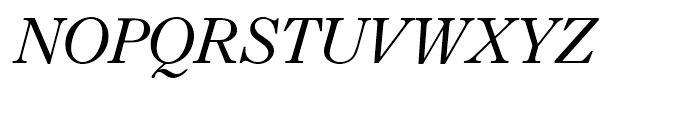 Imprint Italic Font UPPERCASE