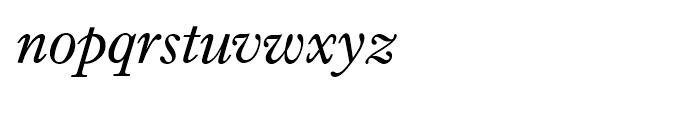 Imprint Italic Font LOWERCASE