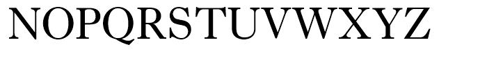 Imprint Roman Font UPPERCASE
