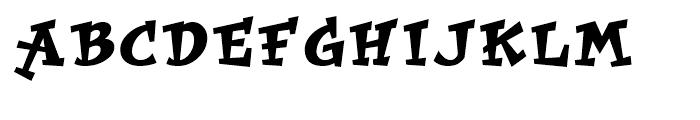 Improv Regular Font UPPERCASE