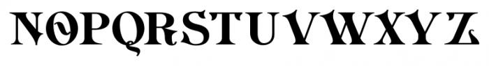 Imperial Granum Ornamental Bold Font LOWERCASE