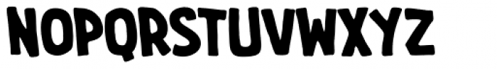 Imaginary Friend BB Bold Font LOWERCASE