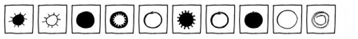 Imagination EF Black Box Font UPPERCASE