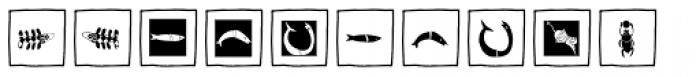 Imagination EF Black Box Font LOWERCASE