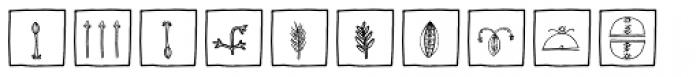 Imagination EF Flowers Box Font LOWERCASE