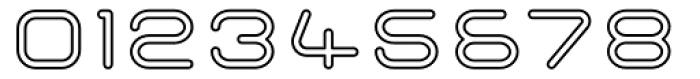 Imaginer Outline Five Font OTHER CHARS