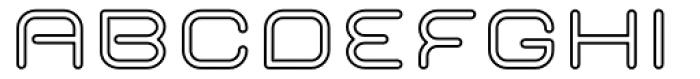 Imaginer Outline Five Font UPPERCASE