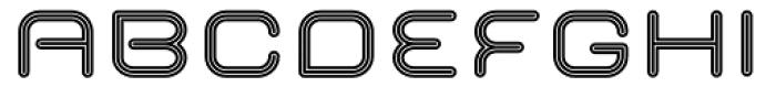 Imaginer Outline One Font UPPERCASE