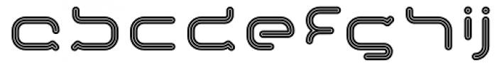 Imaginer Outline One Font LOWERCASE