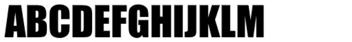 Impact Std Roman Font UPPERCASE