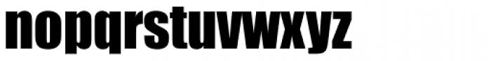 Impact Std Roman Font LOWERCASE
