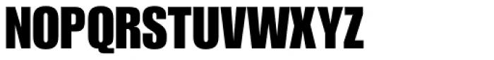 Impact URW Font UPPERCASE
