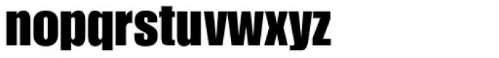 Impact URW Font LOWERCASE