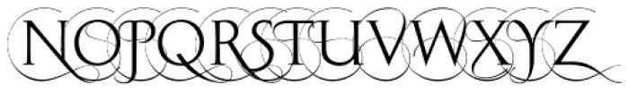 Imperia C Font UPPERCASE