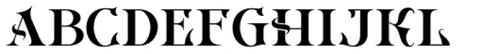 Imperial Granum Ornamental Font LOWERCASE