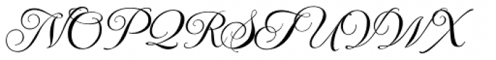 Imperial Script ROB Font UPPERCASE