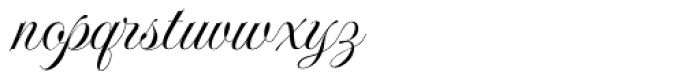 Imperial Script ROB Font LOWERCASE