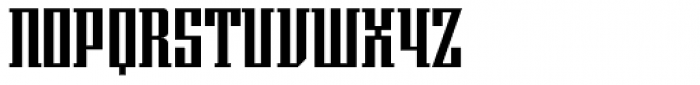 Imperio UB Font UPPERCASE