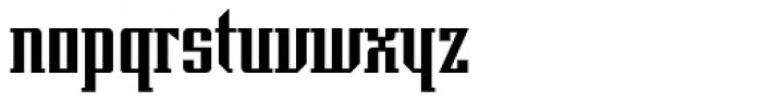 Imperio UB Font LOWERCASE