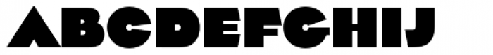 Impetus Heavy Font LOWERCASE