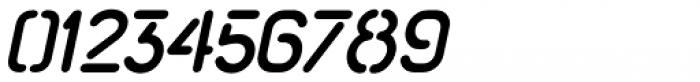 Import Stencil Oblique Font OTHER CHARS