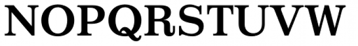 Impressum Bold Font UPPERCASE