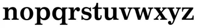 Impressum Bold Font LOWERCASE