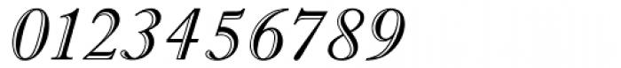 Imprint MT Shadow Italic Font OTHER CHARS
