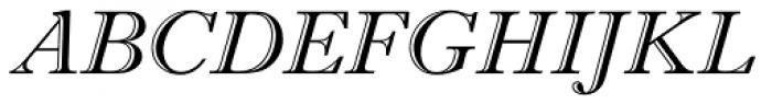 Imprint MT Shadow Italic Font UPPERCASE