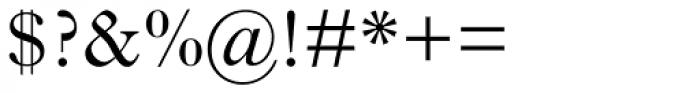 Imprint Std Regular Font OTHER CHARS