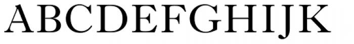 Imprint Std Regular Font UPPERCASE
