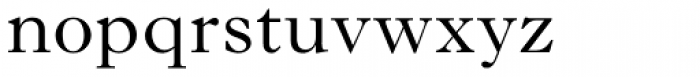 Imprint Std Regular Font LOWERCASE