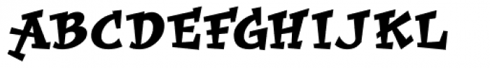 Improv ICG Font UPPERCASE