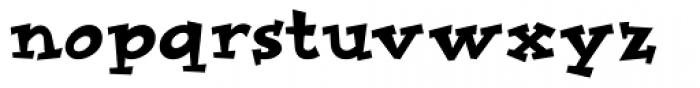 Improv ICG Font LOWERCASE