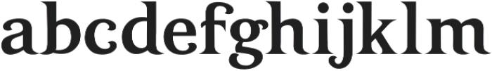 INFERNO otf (400) Font LOWERCASE