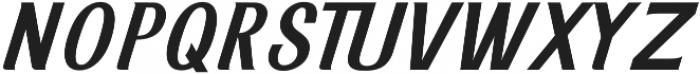 Inarritu Incline otf (400) Font UPPERCASE