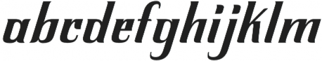 Inarritu Incline otf (400) Font LOWERCASE