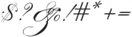 IndentureEnglishPenman otf (400) Font OTHER CHARS