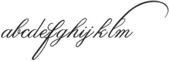 IndentureEnglishPenman otf (400) Font LOWERCASE