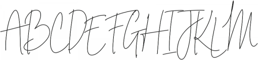 Indesign Signature otf (400) Font UPPERCASE