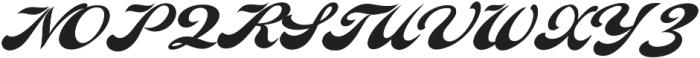 Indiana Script otf (400) Font UPPERCASE
