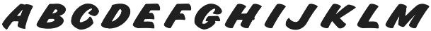 Indie Capitals Regular otf (400) Font UPPERCASE