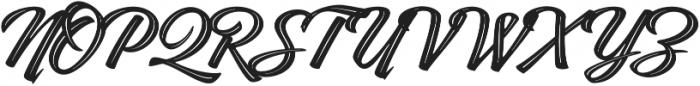 Indie Inline Regular otf (400) Font UPPERCASE