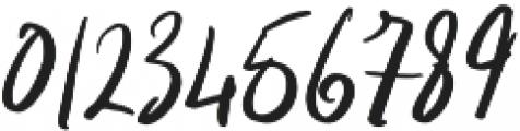Indigo Blue otf (400) Font OTHER CHARS