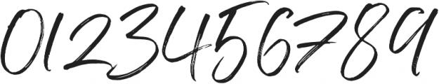 Indigo Forest otf (400) Font OTHER CHARS