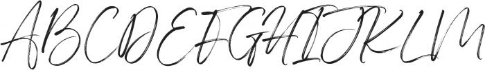 Indigo Forest otf (400) Font UPPERCASE